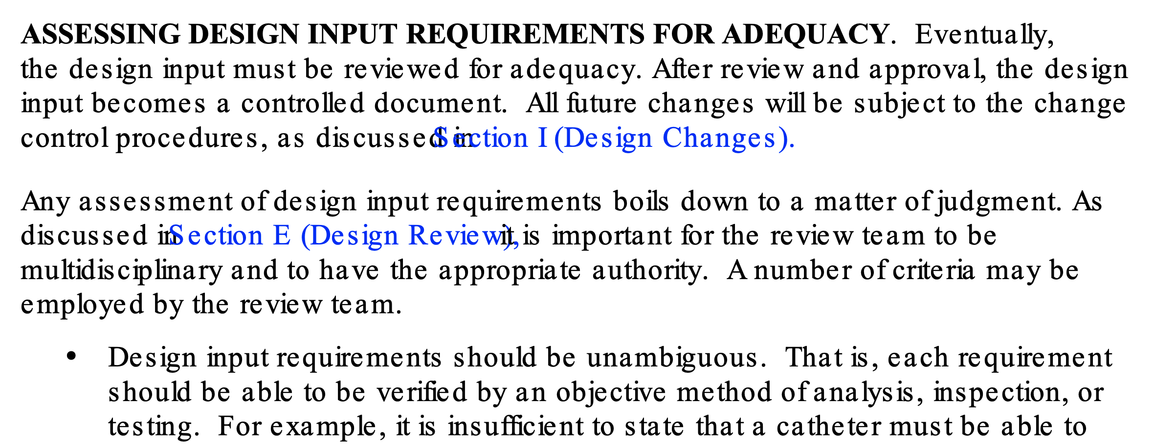 Screenshot showing poor font formatting in the 1997 guidance document PDF.